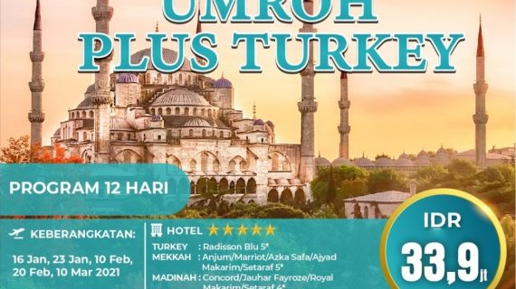 "Paket Umroh Plus Turki 2021 Penuh Sensasi Terindah<span class=""rating-result after_title mr-filter rating-result-681""><span class=""mr-star-rating"">    <i class=""fa fa-star mr-star-full""></i>        <i class=""fa fa-star mr-star-full""></i>        <i class=""fa fa-star mr-star-full""></i>        <i class=""fa fa-star mr-star-full""></i>        <i class=""fa fa-star mr-star-full""></i>    </span><span class=""star-result"">5/5</span><span class=""count"">(3)</span></span>"
