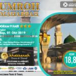 Jadwal Paket Umroh September 2020 Bekasi