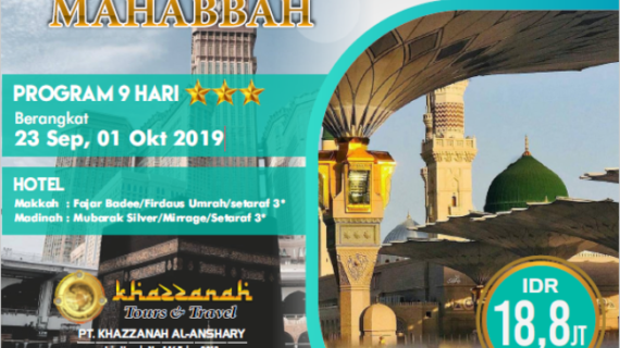 "Paket Umroh September 2020 Ibadah Penuh Makna<span class=""rating-result after_title mr-filter rating-result-765"">	<span class=""mr-star-rating"">			    <i class=""fa fa-star mr-star-full""></i>	    	    <i class=""fa fa-star mr-star-full""></i>	    	    <i class=""fa fa-star mr-star-full""></i>	    	    <i class=""fa fa-star mr-star-full""></i>	    	    <i class=""fa fa-star mr-star-full""></i>	    </span><span class=""star-result"">	5/5</span>			<span class=""count"">				(2)			</span>			</span>"