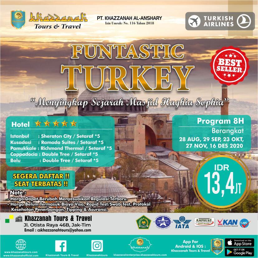 Tour Wisata Muslim Halal Turki